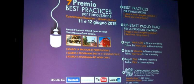 Rethink alla nona edizione del Premio Best Practices per l'Innovazione