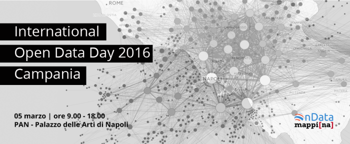 Open Data Day Campania 2016: dati aperti anche in Campania