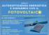 Corso di autosufficienza energetica e risparmio con fotovoltaico