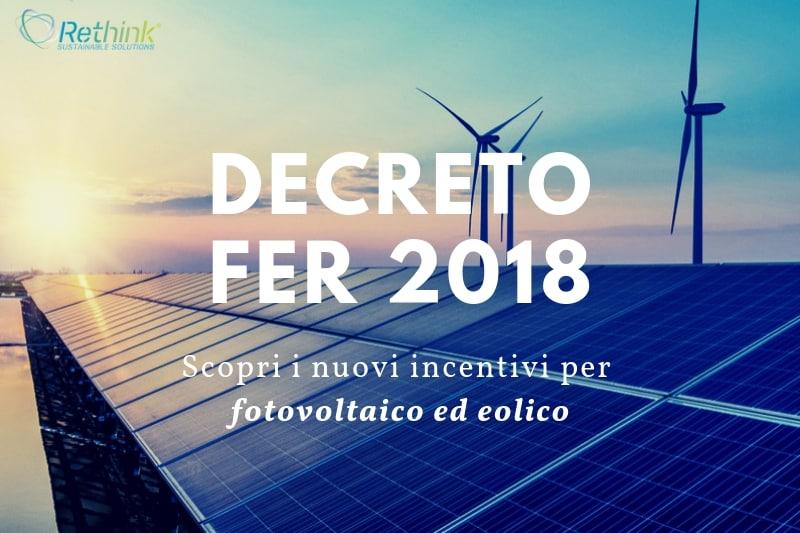 DECRETO FER 2019: scopri i nuovi incentivi per fotovoltaico ed eolico