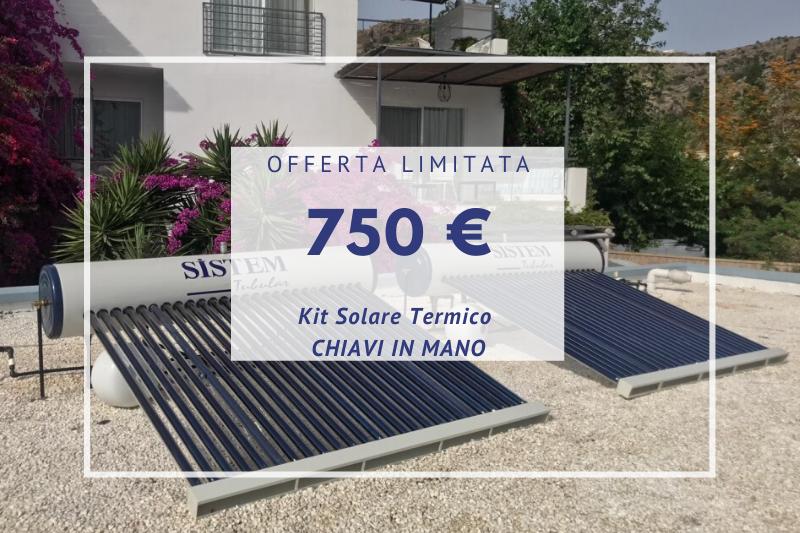Kit Solare Termico EPHESUS
